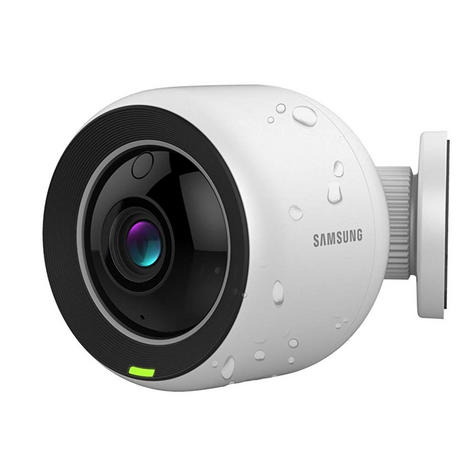 Samsung SNH-V6430BNH/UK SmartCam 1080p Full HD WiFi/ PoE Indoor & Outdoor Camera | Weather-Resistant Thumbnail 3