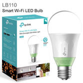 TP-Link LB110 Smart Wi-Fi LED Bulb with Dimmable Light - E27