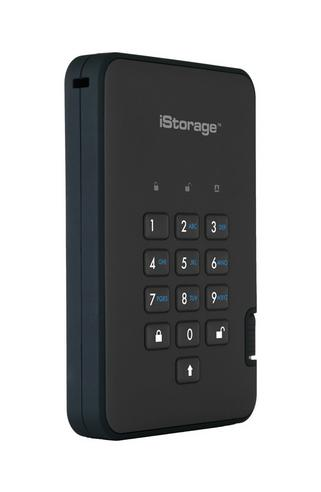 iStorage diskAshur2 512GB USB 3.1 External Solid State Drive/ Disk | Storage | Black Thumbnail 2