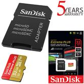 SanDisk 32GB Extreme MicroSDHC Memory Card & Adapter | 100MB/s | For Action Cameras & Smartphones/Tablets