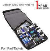 """Cocoon CPG36BK-NA GRID-IT! Wrap 10 Sleeve/ Carrying Case 