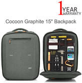 "Cocoon MCP3402GF-NA Graphite 15"" Backpack For MacBook Pro 
