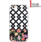 Agent 18 iPhone 6/6s Flexshield Flexible Case | Screen Protection | Lattace Flower