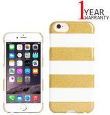 Agent 18 iPhone 6/6s Slimshield Case   Impact Resistant Protection   Glitter Stripes
