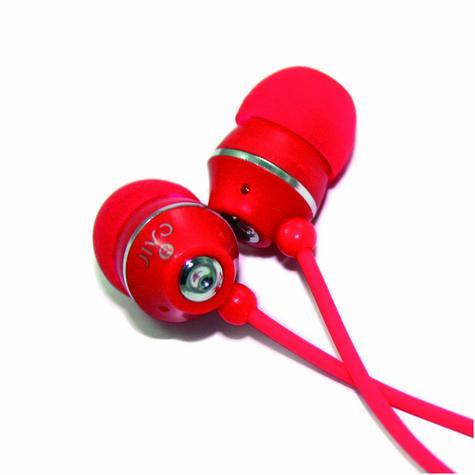 Jivo JI-1060R Jellies In-Ear Noise Isolating Earphone|Soft & Comfy|Strawberry|New Thumbnail 3