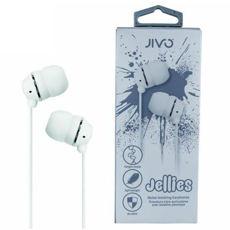 Jivo JI-1060W Jellies In-Ear Noise Isolating Earphone|Soft & Comfy|Vanilla|New Thumbnail 1