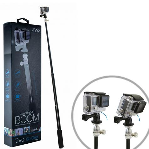 Jivo GoGear Boom Xtendable Pole|Lightweight|For Your GoProAction Camera|JI-1886 Thumbnail 1