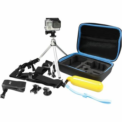 Jivo GoGear 6-in-1 Mount Kit|For GoPro & Action Cameras|360° Head Mount|JI-1908 Thumbnail 2
