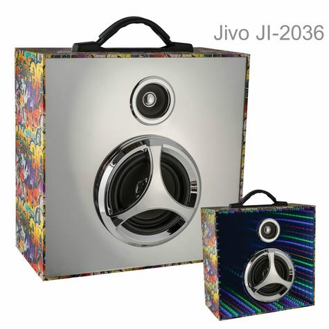Jivo JI-2036 Infinity Pulse Bluetooth Speaker with Mirrored LED Display|Graffiti Thumbnail 1