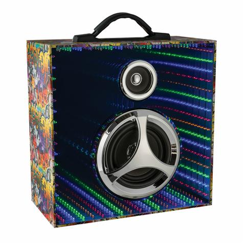 Jivo JI-2036 Infinity Pulse Bluetooth Speaker with Mirrored LED Display|Graffiti Thumbnail 2