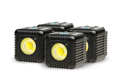 Lume Cube Quad Cube Pack | Mini Portable LED Action Light | Bluetooth Controlled | NEW Thumbnail 2