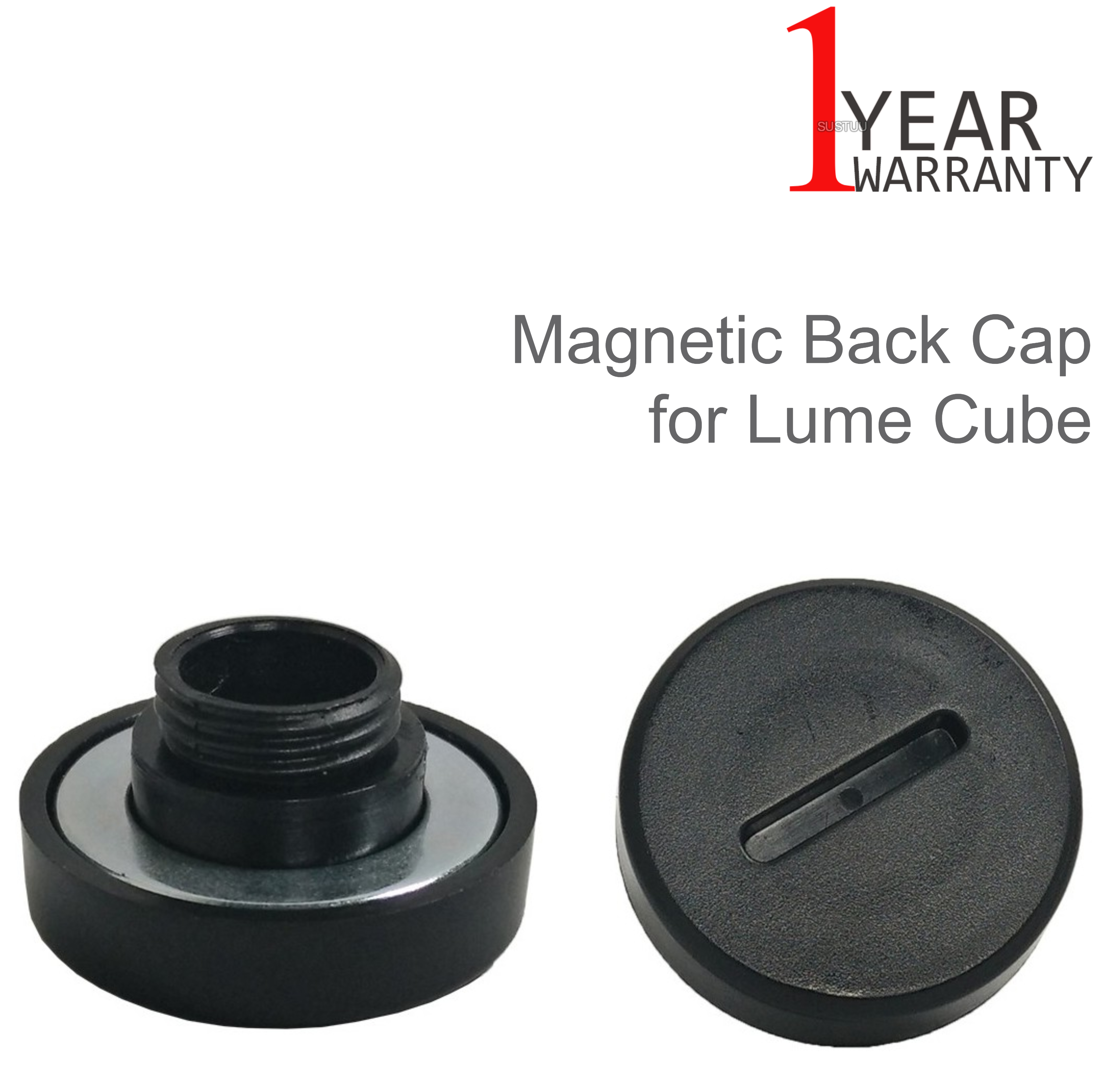 Lume Cube Magnetic Back Cap LCMC11 | Strong Cover | For Mount On Metal Surface | Black