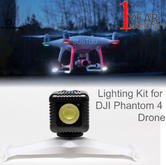 Lume Cube Mounts & Lighting Kit for DJI Phantom 4 Drones | 1500 Adjustable Lumens
