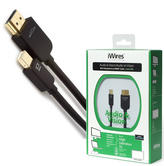Techlink iWires Mini Display Port Plug to HDMI A Plug Cable | 5m Black Lead | High Data Transfer