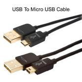 Techlink iWires USB To Micro USB Cable 2m | 5Pin Micro Plug | Double Cable Shielding