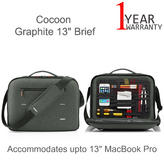 "Cocoon MCP3202GF Graphite 13"" Retina Briefcase For MacBook Pro 