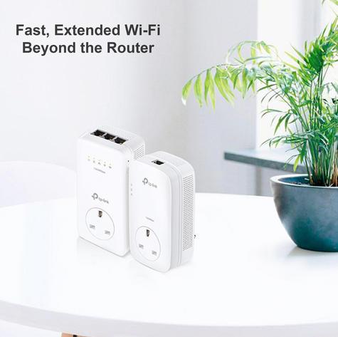 TP-Link TL-WPA8630P KIT V2|AV1300 Gigabit Passthrough ac Wi-Fi Kit|Twin Pack Thumbnail 2