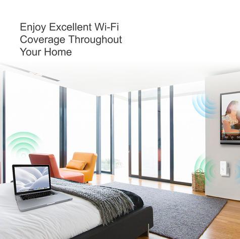 TP-Link TL-WPA8630P KIT V2|AV1300 Gigabit Passthrough ac Wi-Fi Kit|Twin Pack Thumbnail 3