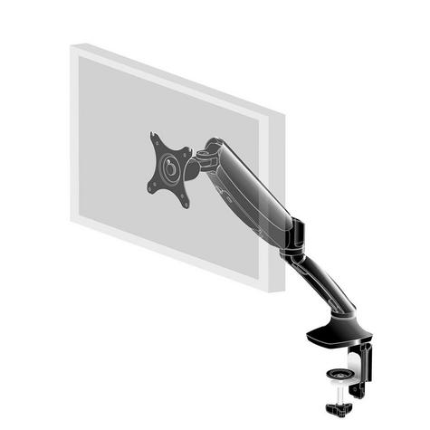 iiyama DS3001C-B1 Gas Spring Mounting Arm|Desk Clamp|Stable Screen Stand|Black| Thumbnail 2