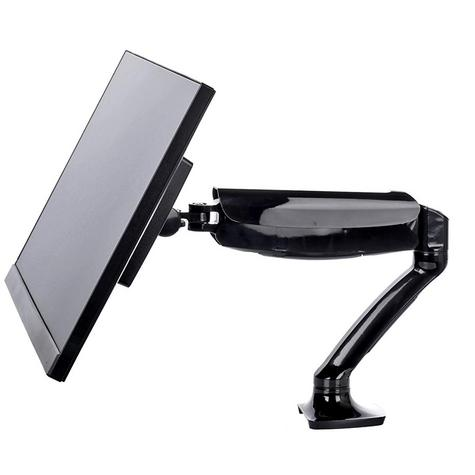 iiyama DS3001C-B1 Gas Spring Mounting Arm|Desk Clamp|Stable Screen Stand|Black| Thumbnail 4