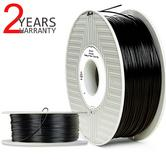 Verbatim 55506 Primalloy Filament 1.75mm | 500g Black Reel/ Spool | Ultra Flexible Rubber