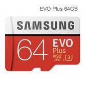 Samsung 64GB EVO Plus UHS-I Micro SDXC Card with Adapter|MemoryCard|MB-MC64GA/EU