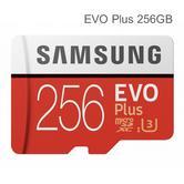 Samsung 256GB EVO Plus UHS-I Micro SD Card with Adapter|MemoryCard|MB-MC256GA/EU