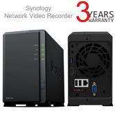 Synology NVR1218 Surveillance 2 Bay NAS Black Network Video Recorder   For PC/ MAC