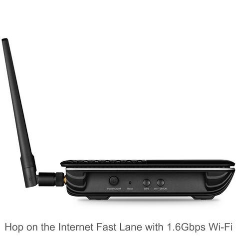 TP-Link ARCHER VR600 V2|AC1600 Wireless Gigabit VDSL/ADSL Modem Router|1.6Gbps Wi-Fi Thumbnail 4