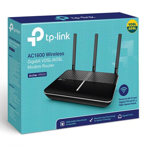 TP-Link ARCHER VR600 V2|AC1600 Wireless Gigabit VDSL/ADSL Modem Router|1.6Gbps Wi-Fi Thumbnail 6