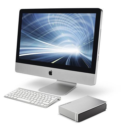 Lacie Porsche Design Desktop External Hard Drive | 6TB | USB 3.0 | For PC & Mac | Silver Thumbnail 6
