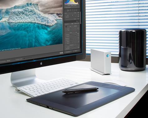 Lacie Desktop External Hard Drive | 6 TB | Dual Thunderbolt 2 & USB 3.0 | For PC & Mac Thumbnail 7
