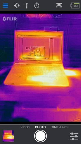 Flir ONE PRO iOS Apple Thermal Imaging Camera | Lightning Connector | For Smartphones Thumbnail 6