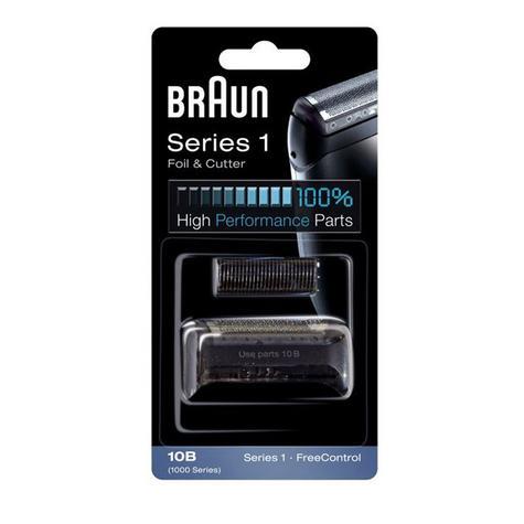 Braun COM10B Shaver Foil & Cutter|Head Series 1 1000|1735|1775|170|180|190|-Black Thumbnail 2