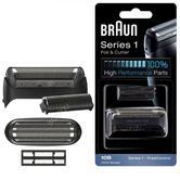 Braun COM10B Shaver Foil & Cutter|Head Series 1 1000|1735|1775|170|180|190|-Black