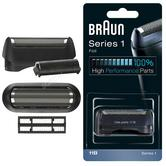 Braun COM11B Replacement Foil & Cutter Pack|Series 1-130 & 1-150 Shaver|Black
