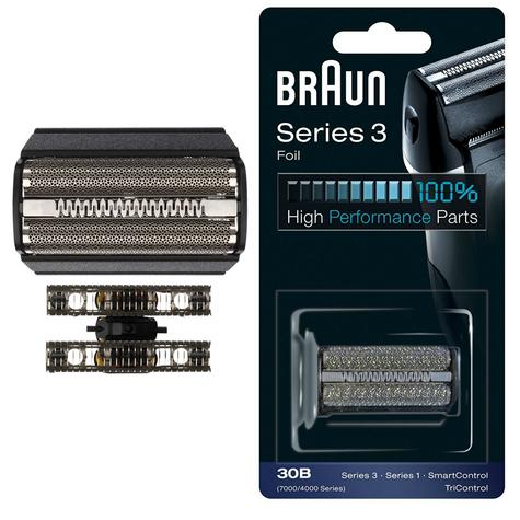 Braun 30B Replacement Black Foil|Series 3|Series 1|SmartControl and TriControl| Thumbnail 1