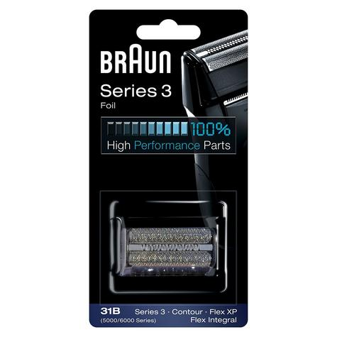 Braun 31B Replacement Foil & Cutter|Series 3(380,360)|Contour|Flex XP & Integral Thumbnail 5