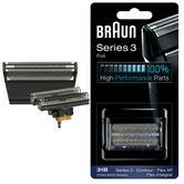 Braun 31B Replacement Foil & Cutter|Series 3(380,360)|Contour|Flex XP & Integral