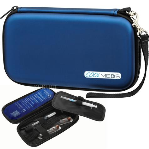 Medigenix CoolMeds Commute Case 15-25°C | Travel Size | Protective & Stylish | MGX010 Thumbnail 1