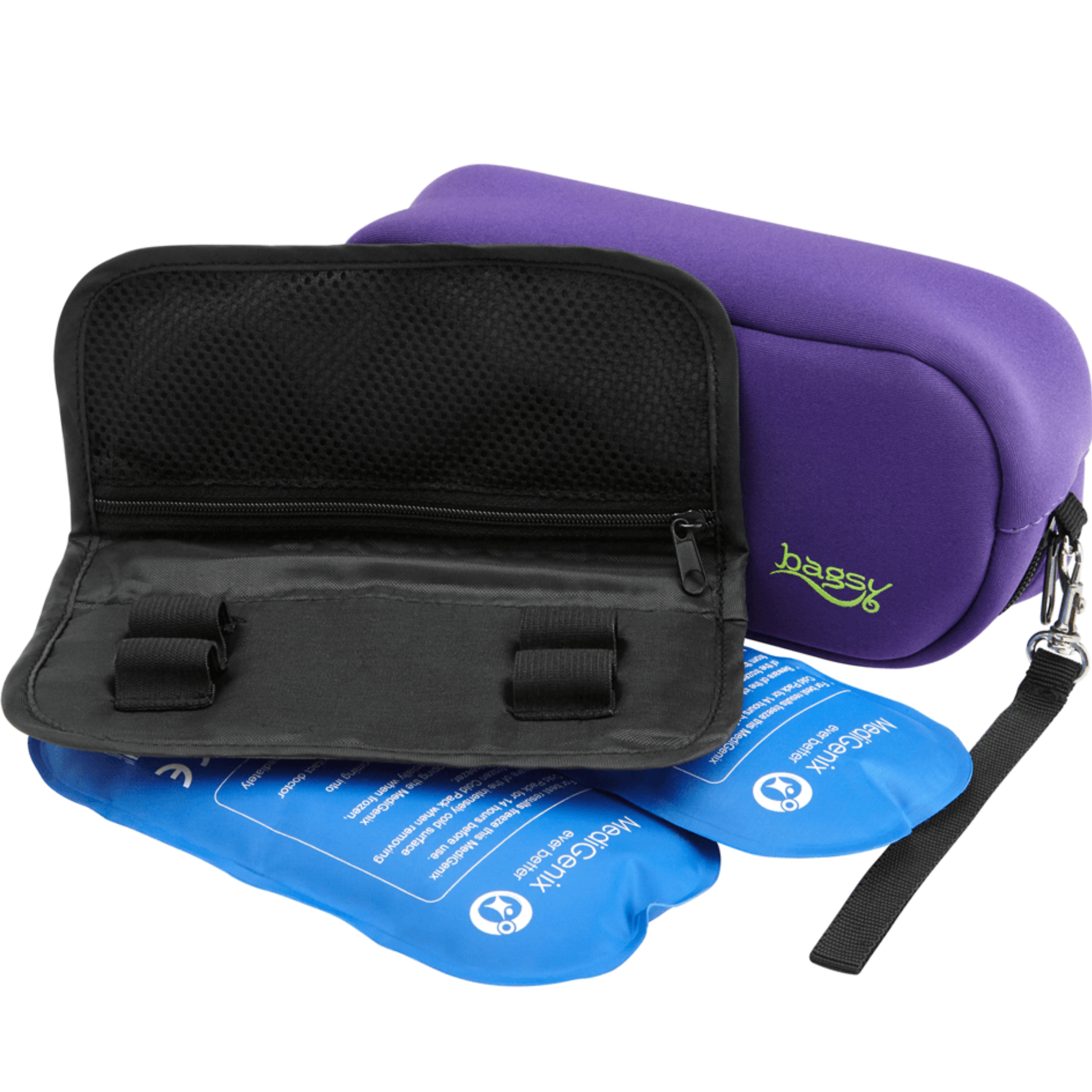 Medigenix Bagsy Insulin & Medicine Carry Case (Purple) | Transporting Bag | MGX012P