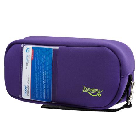 Medigenix Bagsy Insulin & Medicine Carry Case (Purple) | Transporting Bag | MGX012P Thumbnail 2
