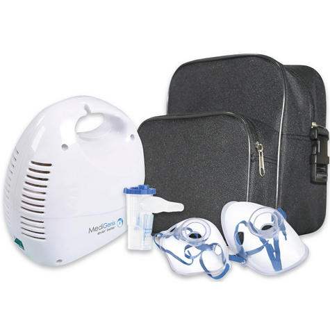 Medigenix Piston Nebuliser Respirator | On-Demand Ampoule | 5 Filters-AirTube | MGX017 Thumbnail 3