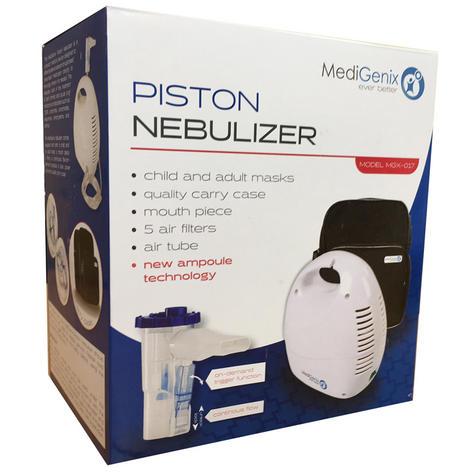 Medigenix Piston Nebuliser Respirator | On-Demand Ampoule | 5 Filters-AirTube | MGX017 Thumbnail 4