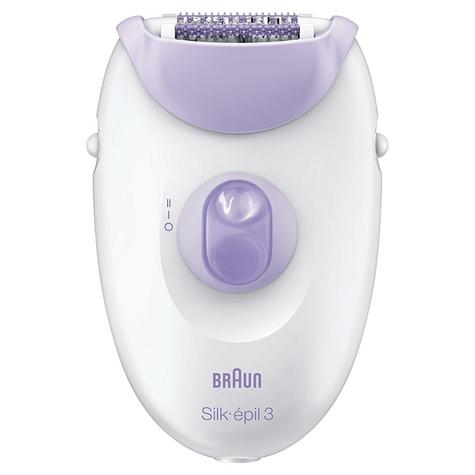 Braun Silk-épil 3 3170 Leg Epilator|Women|Gentle 20 Tweezer Hair Removal Device| Thumbnail 2