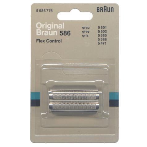 Braun Flex Control Replacement Foi l  Shaver Head   5501 5502 5584 5586 5471   BRAF586 Thumbnail 1