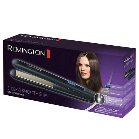 Remington Sleek & Smooth Hair Straightener | Advanced Ceramic Coating | RE-S550 | Black Thumbnail 2