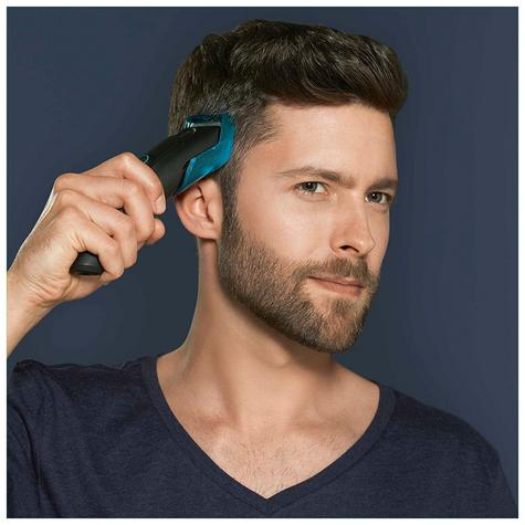 Braun Cordless Hair Clipper/Treamer | Washable & Rechargeable | 9 Length Settings | HC5010 Thumbnail 5