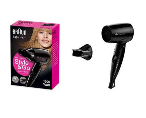 Braun Style & Go Satin Travel Hair Dryer | Infrared Heat Protect | Women | 1200W | HD130 Thumbnail 4