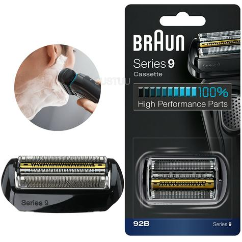 Braun Series 9 Shaver Replacement Foil & Cassette Head | Titanium Coating | COM92B Thumbnail 1